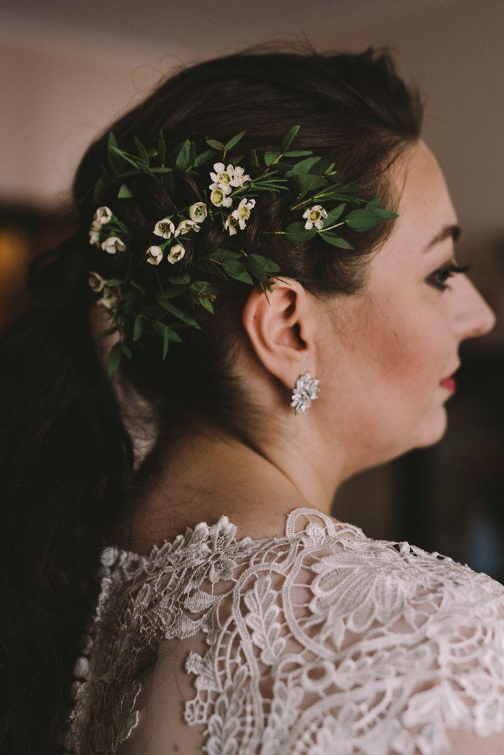 INNA Studio_flowers in the hair / kwiaty we włosach na ślub / fot. Julia Wojciechowska Fotografia