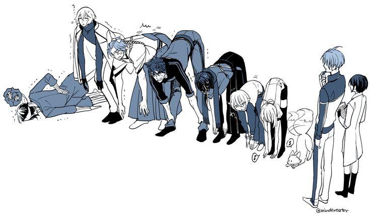 【刀剣乱舞】刀剣達が体力測定【とある審神者】 : とうらぶ速報~刀剣乱舞まとめブログ~