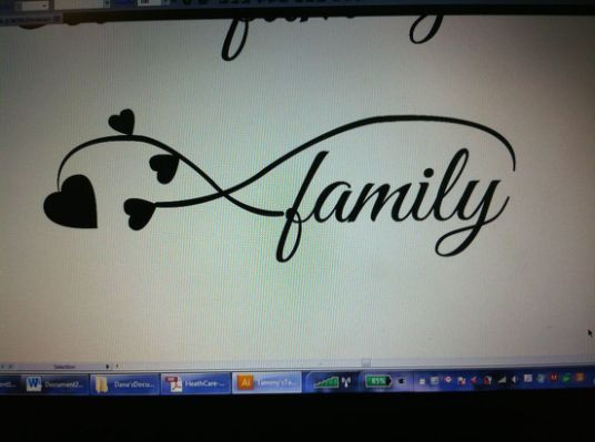 Infinity Symbol Tattoo Family