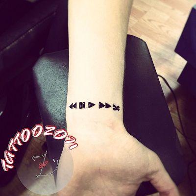 wrist temporary henna tattoo & wrist henna tattoo …