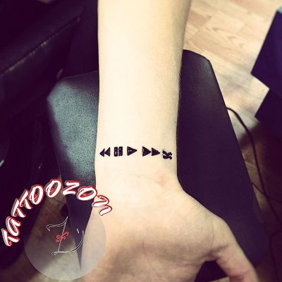 bilek geçici kına dövmesi & wrist henna tattoo ...
