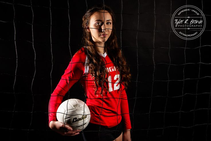 Gabi Norsworthy - Independence High School - Studio - Senior Portraits - Class of 2016 - Senior Pictures - Ideas for Girls - Volleyball - #seniorportraits - Female Athletes - #seniorpics - Ideas for Volleyball Players - Volleyball Senior - Senior Model Rep - Tyler R. Brown Photography