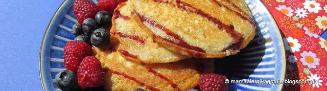 Pancakes Wegańskie, Bezglutenowe