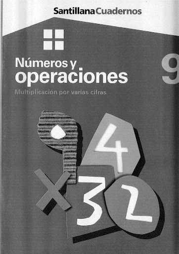 Números y operaciones 9 - Multiplicación por varias cifras