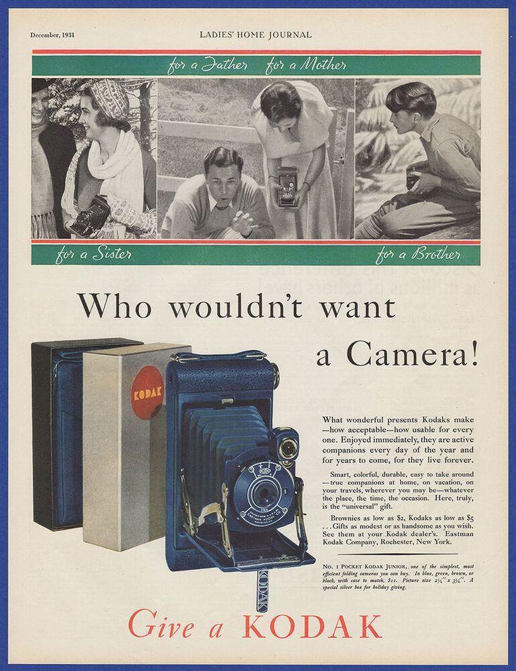 Details about Vintage 1931 KODAK Brownie Camera Film ...