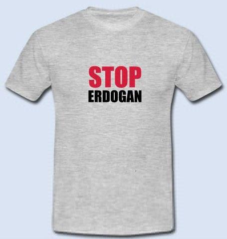 """STOP Erdogan - Turkey Erdogan Protest – Freedom and Democracy for Turkey. Stop Erdogan for human rights and freedom of speech. Support Erdogan Protest now!  Get your """"Stop Erdogan Shirt"""" now https://www.spreadshirt.de/stop+erdogan+turkey+tuerkei-A105774770  #stopErdogan #Erdogan #Turkey #freeTurkey #Türkei #humanrights #freedom #democracy #kurdish #kurdistan #politics #welcometothefuture #amnestyinternational #ISIS #IS #Terrorist"""
