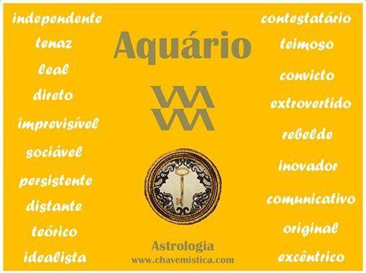 Signo Aquário e as suas características principais.