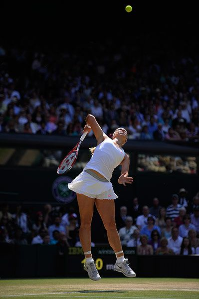 Sabine Lisicki struggled with her ball toss throughout her Wimbledon 2013 Ladies final.