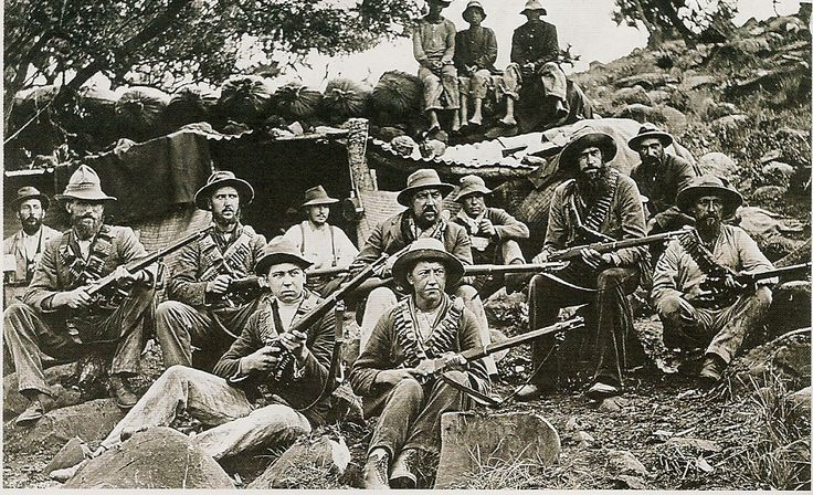 Boers from a Commando of the Second Boer War