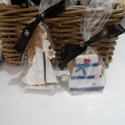 Wedding themed cookies, hand made at Grosvenor House