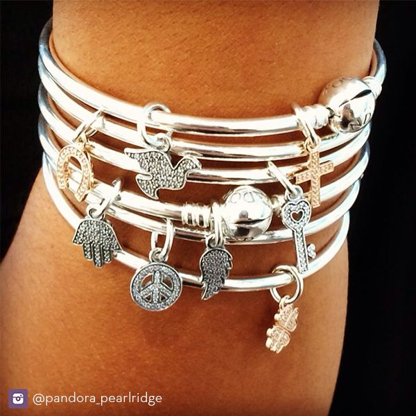 We're loving these new PANDORA symbols charms! www.benbridge.com/shop/pandora-alphabet-and-symbol-charms
