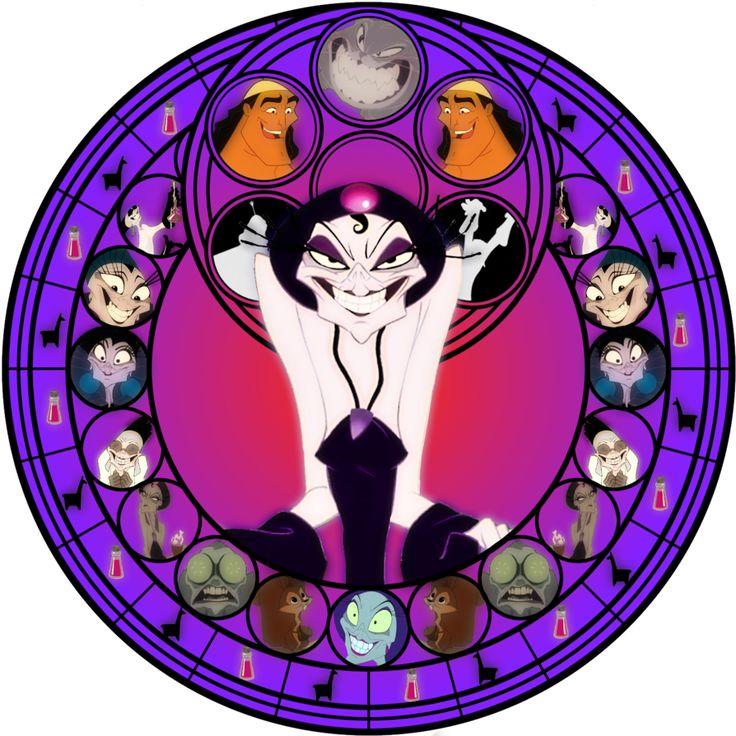 Yzma stained glass by jeorje90 on deviantART