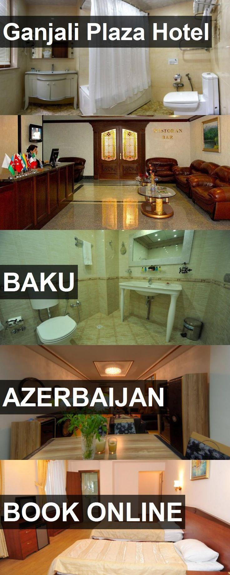 Hotel Ganjali Plaza Hotel in Baku, Azerbaijan. For more information, photos, reviews and best prices please follow the link. #Azerbaijan #Baku #hotel #travel #vacation