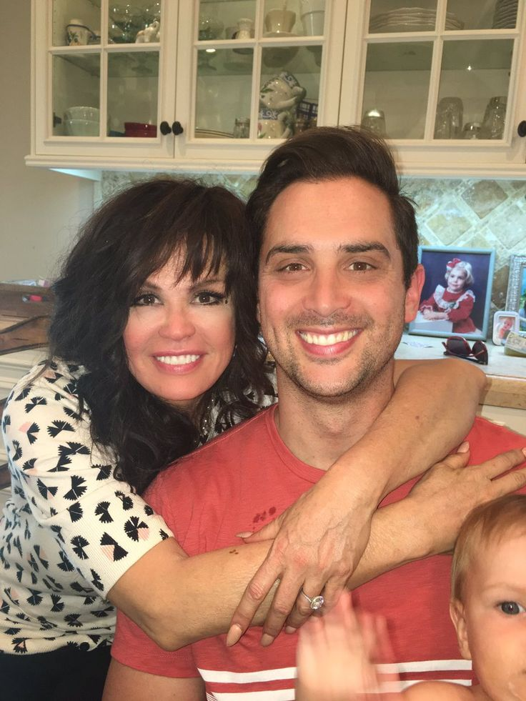 Marie Osmond & son Stephen Craig