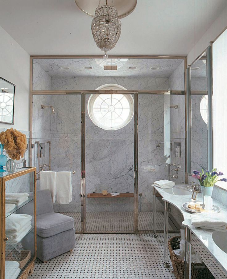 modern bathroom fountain valley reviews%0A See more of FoxNahem Associates u    s Stanford White Townhouse on  stdibs     Eclectic BathroomModern