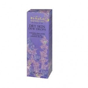 Ayurveda - Dry Skin Dew Drops. A herbal bouquet of Ayurvedic ingredients and essential oils that is suitable for all age ranges and skin types. For young and mature skin alike. This is a very useful product to use after Instant Face Lift Mask at night, The former owner of this online shop, Linda Briggs, says she used this and was amazed by the feel of her skin in the morning. - See more at: http://www.ginablacksbeautystore.com/product/vinies-dry-dew-skin-drops/#sthash.AVwtob2l.dpuf