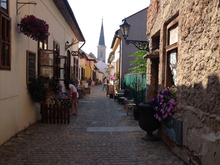 KOSICE - the most beautiful street: Hrnciarska