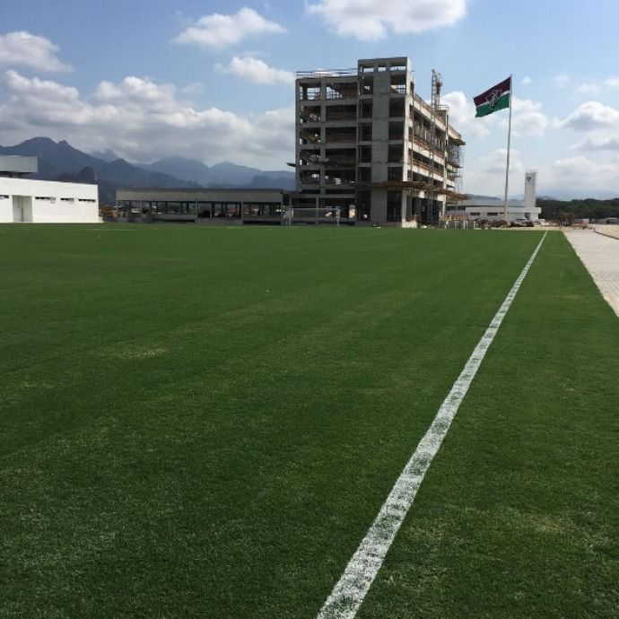 Campo 2, piscina e academia: veja novas fotos do CT do Fluminense #globoesporte