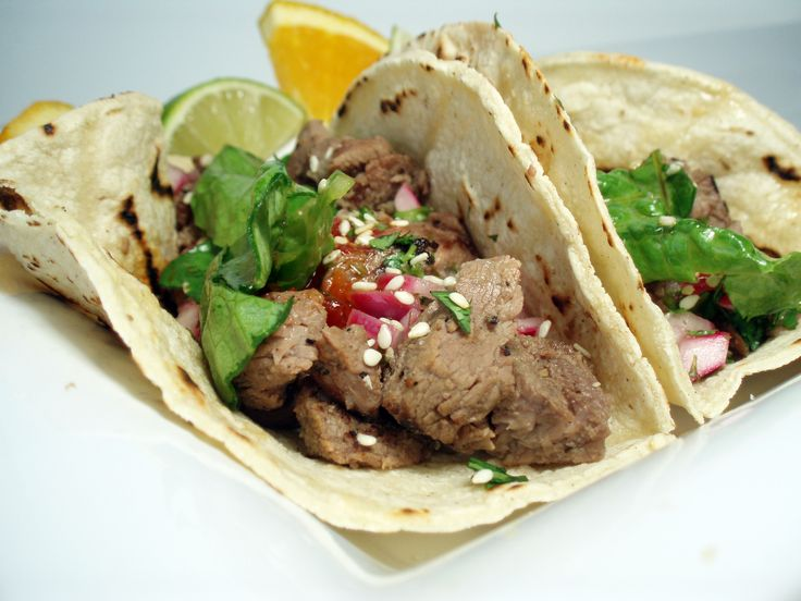 Korean Short Ribs Tacos