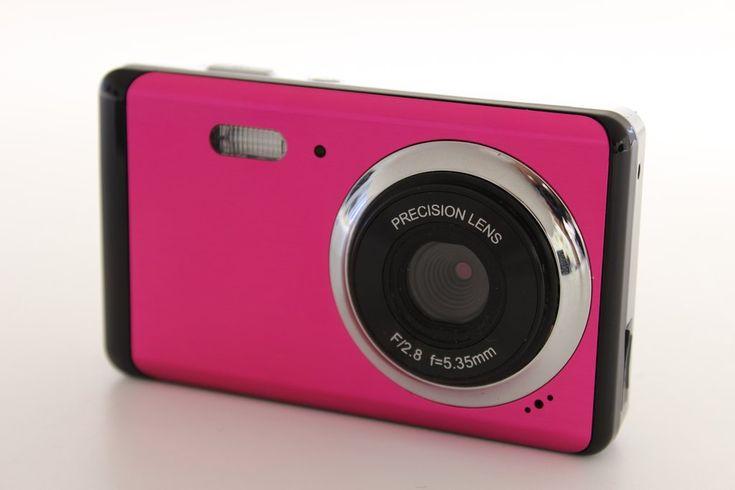 12MP Digital Camera - Pink