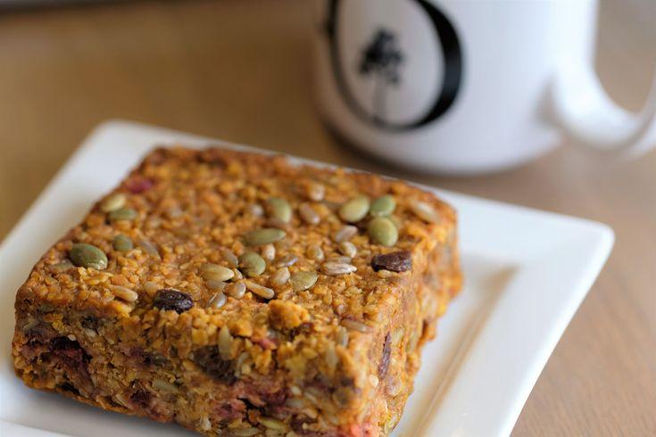 When you need more than a caffeine jolt to power your day, add an energy boosting sidekick - a Vegan Power Bar.   #bakedinhouse #healthyeats #veganpower
