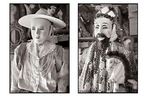 La Maringuia y el Tarepiti de la Danza de los Kurpites de SAn Juan Nuevo Michoacán