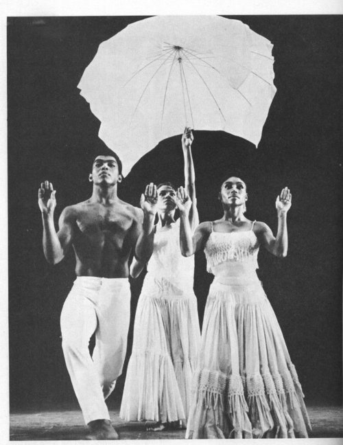 alvin ailey revelations. vintage. My favorite piece hands down. Ever.