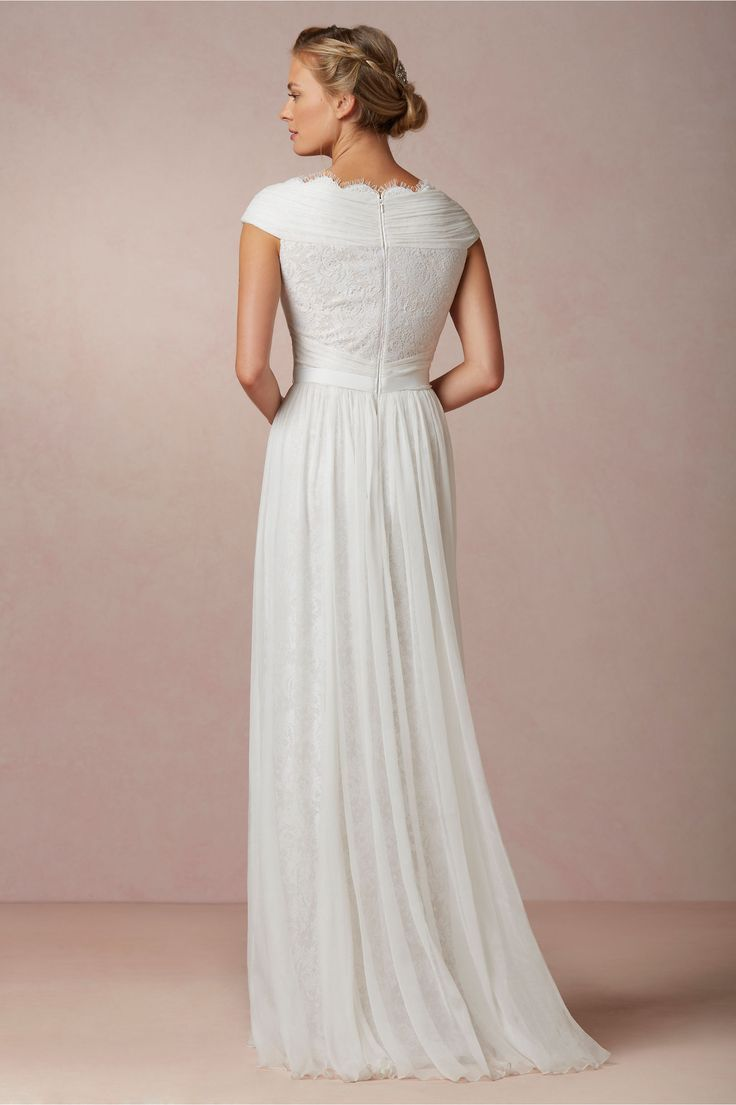 Fresh Halcyon Gown from BHLDN favorite modest wedding dress of so far I know