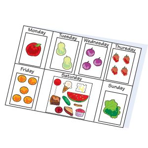 Free template for The Very Hungry Caterpillar book by: Eric Carle