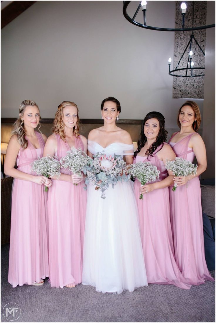 Annine Bridal party hand bouquets