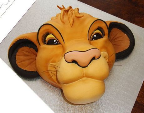 Lion King cake-YES PLEASE!!