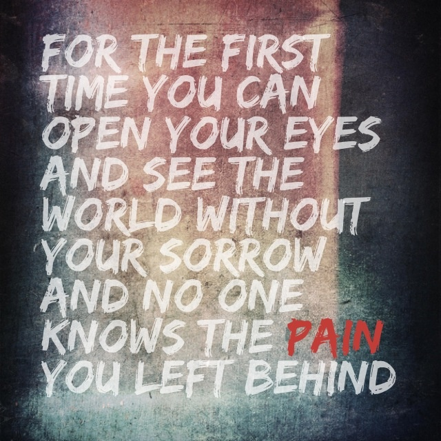 "Lyrics - ""Open Up Your Eyes"" by Daughtry"