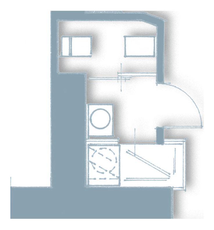 33 mq una casa sfruttata in lunghezza - Cose di Casa