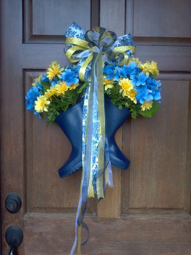 My Spring Door Decor