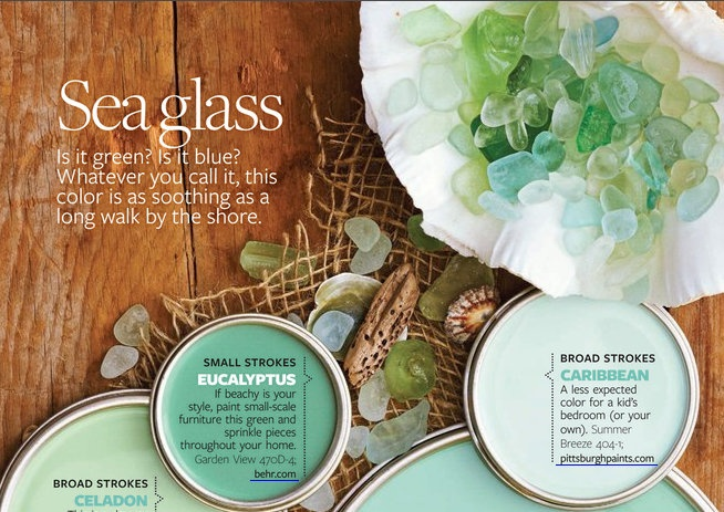Sea Glass Paint Colors Love On The Bottom Benjamin