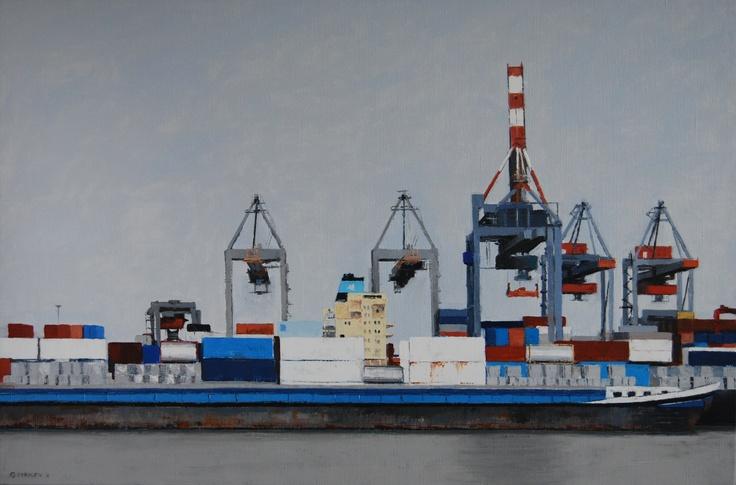 Kranen (80 x 100 cm)