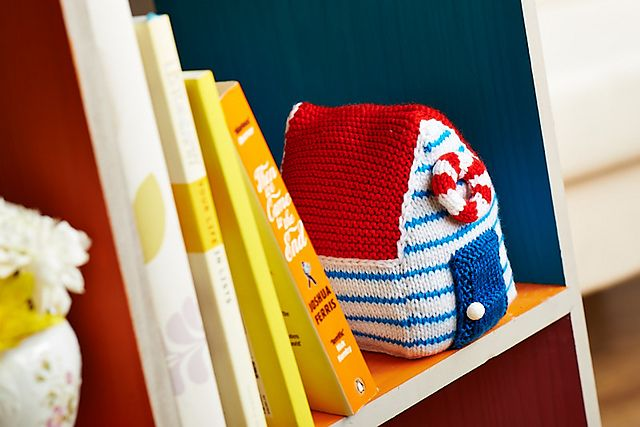 Bring summer to your living space by introducing Amanda Berry's beach hut doorstop