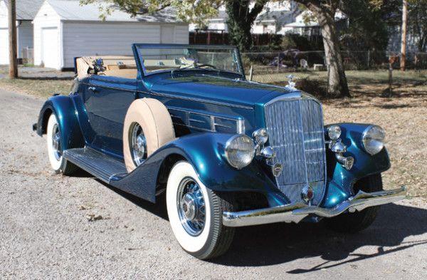 1935 Pierce-Arrow 1245 Rumble Seat Convertible Coupe