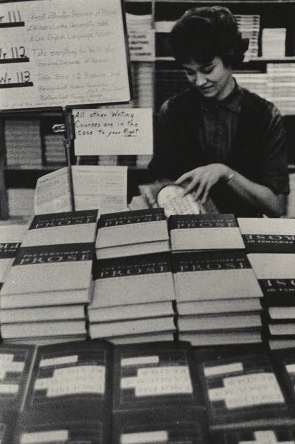 The University Bookstore 1963. From the 1964 Oregana (University of Oregon yearbook). www.CampusAttic.com