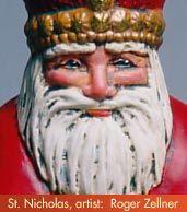 St. Nicholas and the Origin of Santa Claus (how did St. Nicholas become Santa?)