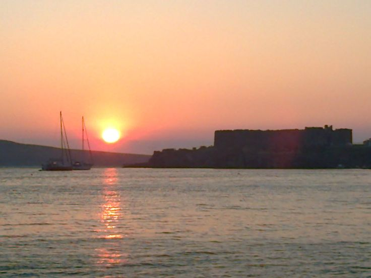 castle - Sigri - Lesvos Island - Greece