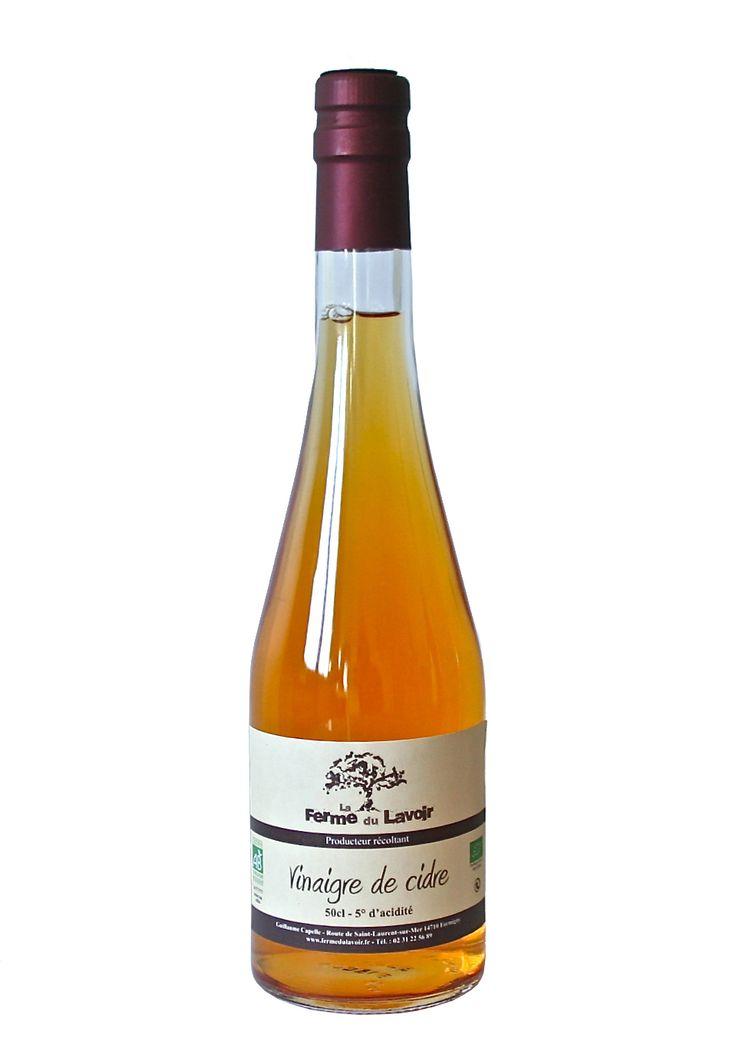 Vinaigre de cidre bio - Ferme du Lavoir