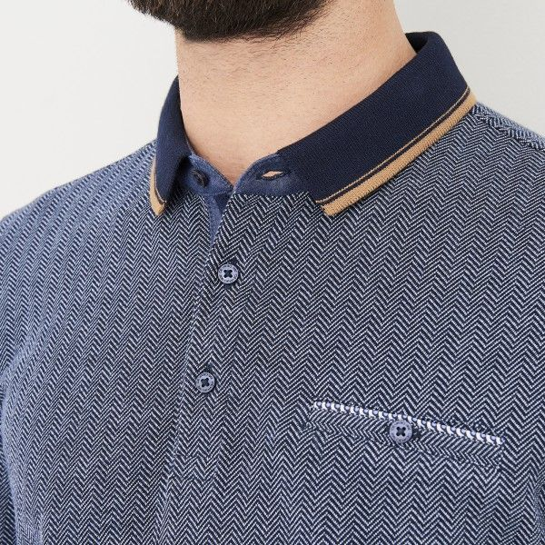 Polo manches longues homme casual - image 3