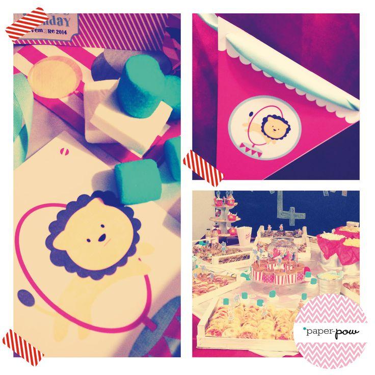 Circus party kit #circus