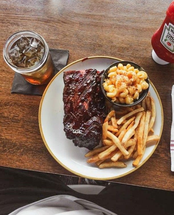 Sometime simplicity  ribs mac fries tea  is best. Which would you bite into first?         #lowandslow #foodiepics #eatfamous #gussbbq #piggingout #stomachhalfempty #infatuationla #lafoodie  #eaterla #yelpla #lafoodjunkie #bbqporn #grillinfools #bbqribs #bbq #porkribs #comfortfoods #southpasadena #indiepas#gussbbq #claremontvillage  #LAMagViews #bbqporn #bbqlife #grillporn #meatlovers #carne #bbqlovers #meatlover #smoked