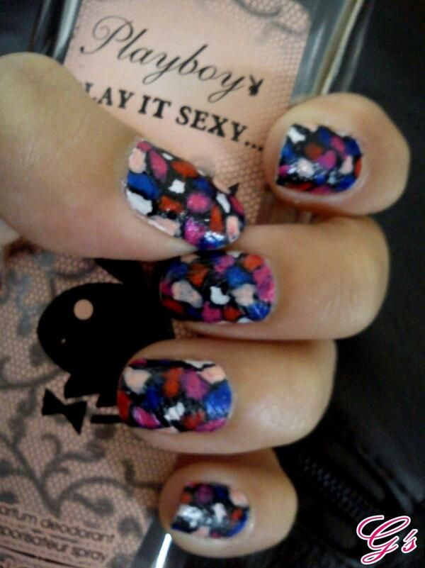 Mozaic nails (2012) #nail #nails #Gs #mozaic