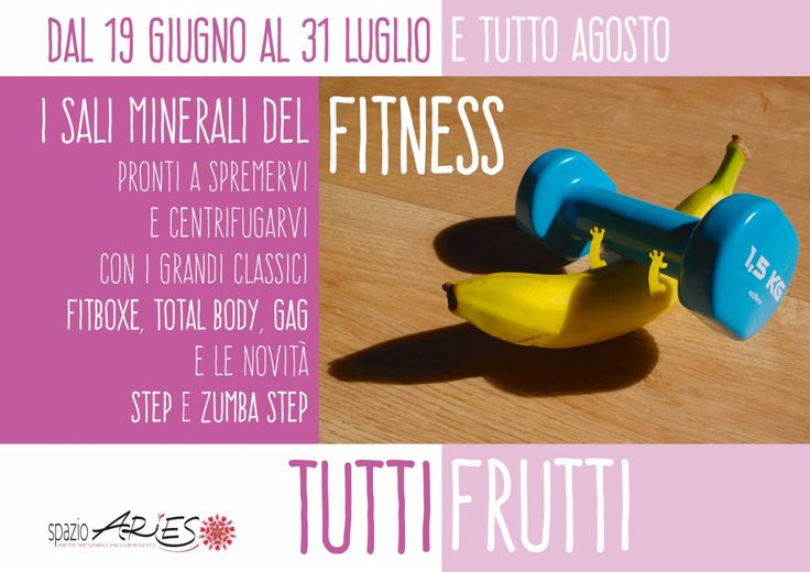 #fitness in #estate ? certo ! in forma anche ad agosto! info@spazioaries.it