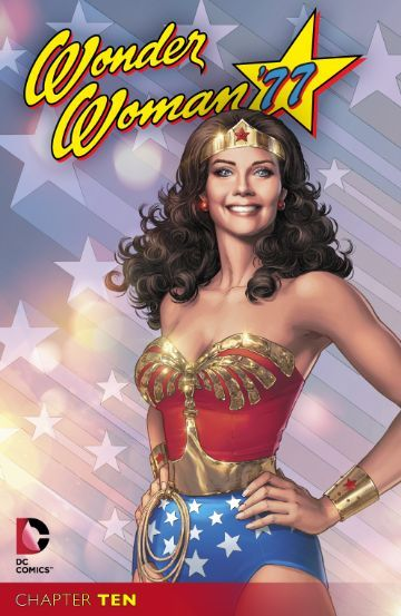Wonder Woman is asked to help investigate a very mysterious murder in WONDER WOMAN '77 #10, out now!