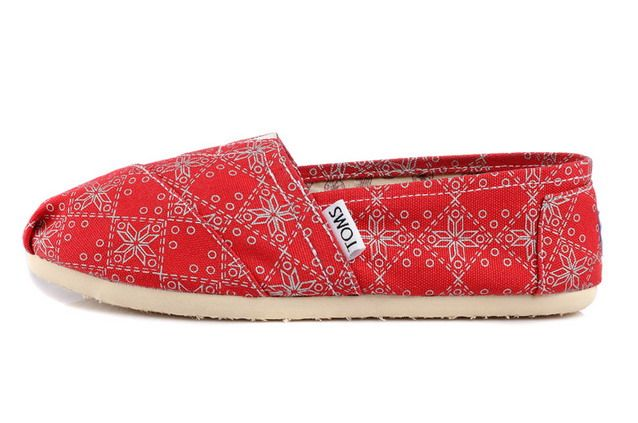 Toms Classic Womens Shoes Red Gloden [Toms050] – $22.00 : Toms Shoes Outlet,Chea