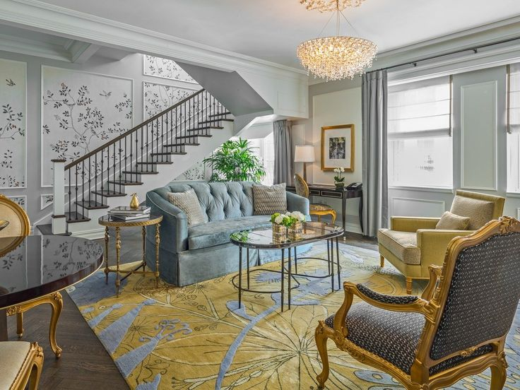 Today, the hotel continues to impress with its grandeur. There are a variety of suites for guests to choose from, including the Plaza Terrace Suites — one-bedroom duplexes with private outdoor terraces and a marble master bathroom. The suites start at $2,945 a night.